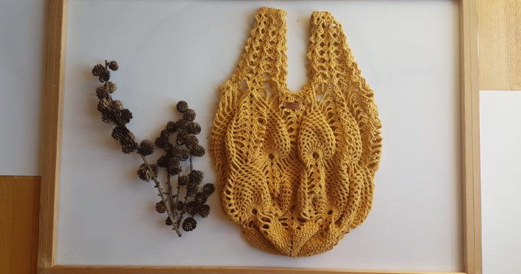siatka z ananasowym wzorem