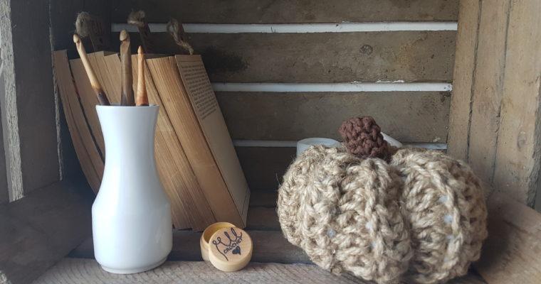 (z)Ręczna dynia z sznurka jutowego – tutorial