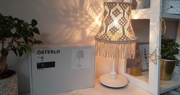 Makramowa lampa Osterlo Ikea – tutorial